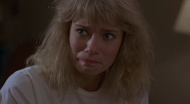 Here we have cute in a panic-stricken, Final Girl kinda way for all you sadists in the audience. For me, pass.
