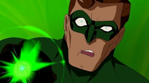 Green Lantern Cartoon Face