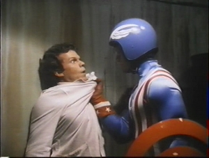 Artist's conception of what the average Captain America fan will probably want done to me after I've wrapped up these reviews.