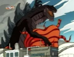 "Suddenly I've started having ""Smog Monster"" flashbacks. Thankfully, this Godzilla survives his entire series without ever once developing improbable powers of flight."