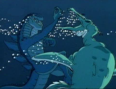 """Oh, hi, Godzilla!"""