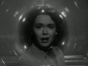 If I had to sum up the 50s SF movie in one image...it'd probably be that trifocal eye from War of the Worlds. But this would be a close second.