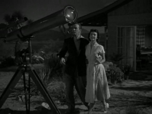She just wants him for his enormous...telescope...