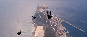Gotta hand it to them, though...great stunt, great use of Gibraltar.