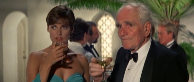 In my Romantic delusions, working on a Bond film involves a lot of standing around, getting drunk with cool Welsh dudes, like Desmond.