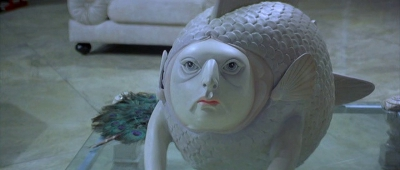 And this fish sculpture, which haunts the nightmares of a generation of Bond fans (mine).
