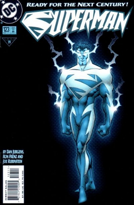 We don't like to talk about the Electric Blue period very much. Geoff Johns, even less, I imagine.