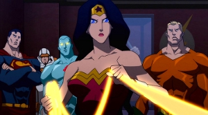 Hey, Diana? Can you throw that thing around the character designer, ask him what the hell's up with everyone's necks? Thanks.